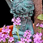 Fairy in the Flowerpot by John Thurgood
