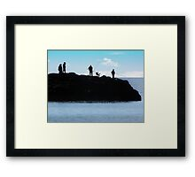 Just a Lazy Afternoon. Framed Print
