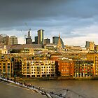 St Paul's and Thames panorama by Gary Eason + Flight Artworks