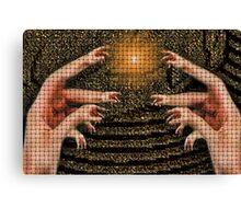 ☝ ☞ HANDS OF DISTINCTION PLZ VIEW LG 4 FULL EFFECT ☝ ☞ Canvas Print