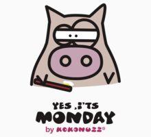 It's Monday... Kino's Moody Face Baby Tee