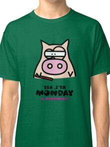 It's Monday... Kino's Moody Face Classic T-Shirt
