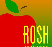 rosh hashanah apple by maydaze