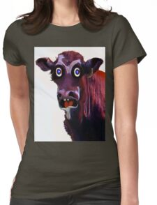 BUTCHER ?! Womens Fitted T-Shirt