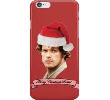 Jamie Fraiser - Merry Christmas Lassie! iPhone Case/Skin