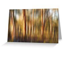Spirited Gum Trees Greeting Card