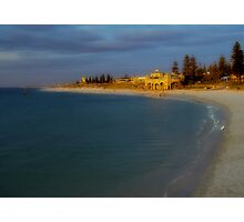 Sunset At Cottesloe Beach Photographic Print