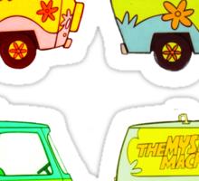 The Mystery Machine 2 Sticker