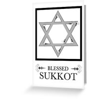 blessed sukkot Greeting Card