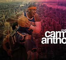 Carmelo Anthony by Calco