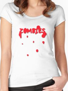 Zombies Women's Fitted Scoop T-Shirt