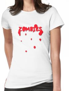 Zombies Womens Fitted T-Shirt