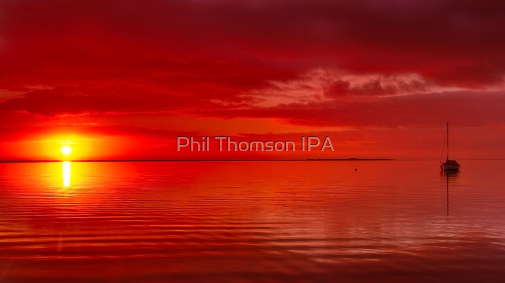 """The Sunrise And The Sailboat"" by Phil Thomson IPA"