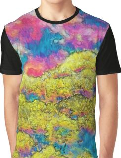Marigolds in Impressionist Oils Graphic T-Shirt