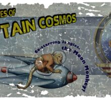 The Adventures of Captain Cosmos Sticker