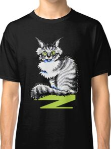 Maine Coon Tabby | Black Classic T-Shirt