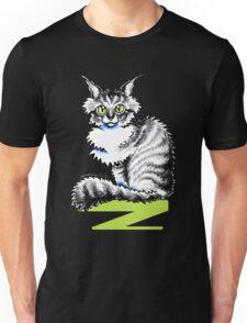 Maine Coon Tabby   Black Unisex T-Shirt
