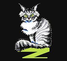 Maine Coon Tabby | Black Unisex T-Shirt