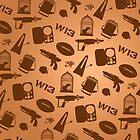 Warehouse 13 Case (Orange) by thegadzooks
