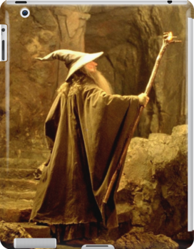 Gandalf the Grey (iPad/iPhone/iPod) by aforceofnature