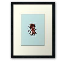 Bacon Bot Framed Print