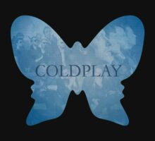 Coldplay T-shirt - Butterfly by razaflekis