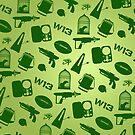 Warehouse 13 Case (Green) by thegadzooks