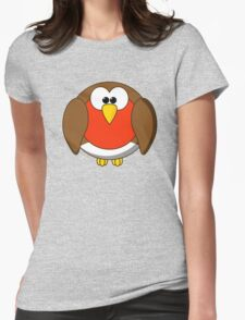 Cute Christmas Robin Redbreast T-Shirt