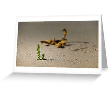 Sentinel Of The Oasis 2.0. Greeting Card