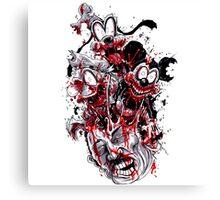 Mouse Zombie Canvas Print