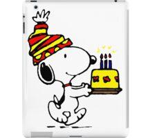 Happy Birthday Snoopy iPad Case/Skin
