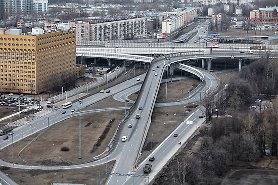 Highway junction  by mrivserg