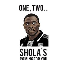 NUFC iPhone Cover - Shola Mackem Slayer by littlemonsters