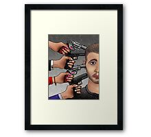 The Suicide Framed Print