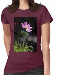 Pink cosmos Womens Fitted T-Shirt
