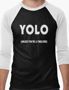 YOLO in time Men's Baseball ¾ T-Shirt