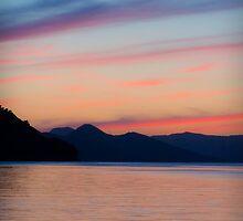 Sipanska Luka Dusk, Croatia by Giles Clare