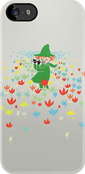 Moomin - Snufkin Playing The Flute by Snufkin