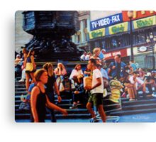 Piccadilly Street Scene 1 Metal Print