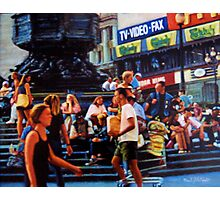 Piccadilly Street Scene 1 Photographic Print
