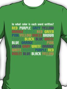 What's My Color T-Shirt