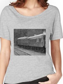 Mt. Rainier Railroad Dining Co, Women's Relaxed Fit T-Shirt