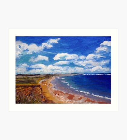 Barmston Beach  Art Print