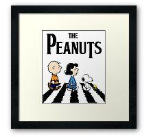 Peanuts Beatles Framed Print