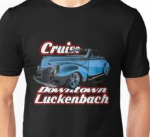 39 Mercury Convertible Cruise Downtown Luckenbach T-Shirt Unisex T-Shirt