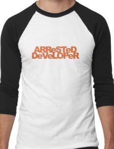 ARReSTeD DeVeLOPeR - Programmer Pun Men's Baseball ¾ T-Shirt