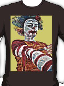 Self medicating Ronald McDonald  T-Shirt