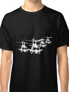 Huey Helicopter Team Sticker/Decal White v1  Classic T-Shirt