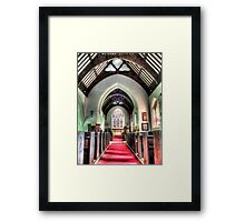 St Mary's Church Angle Framed Print