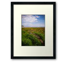 Taf Estuary Laugharne Framed Print